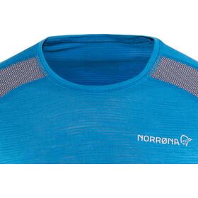 Norrøna Bitihorn Wool T-Shirt Men Hot Sapphire